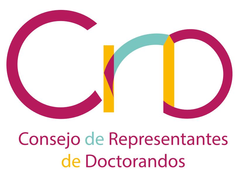 Imagen corporativa del Consejo de Representantes de Doctorandos de la UGR